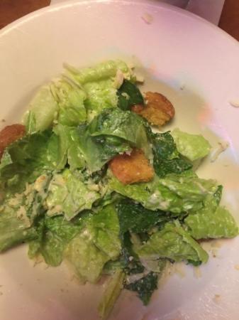 Texas Roadhouse: ceasar salad