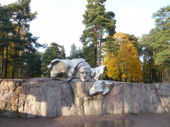 Image result for sibelius park helsinki map