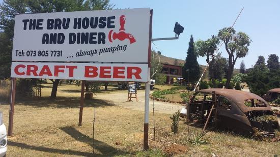 Hekpoort, Sør-Afrika: Bru House & Diner