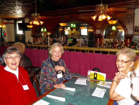 Bully S Restaurant Pub Aarp Group Enjoying Lunch
