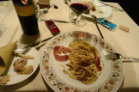La Bottega del 30: Pasta with smoked goose breast