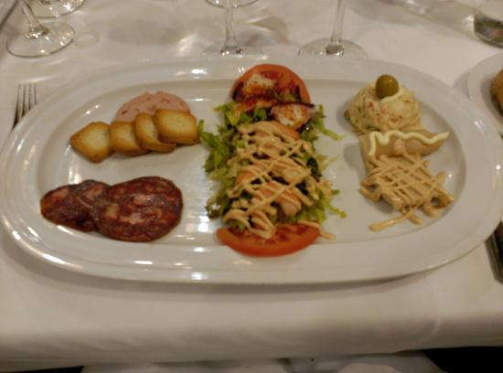 Restaurante Mandoya: Primer entrante
