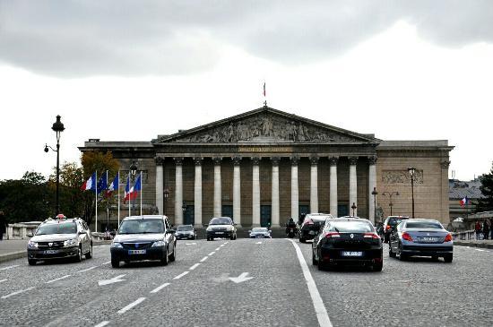Paris, France : Assemblee Nationale