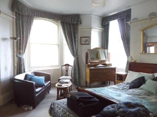 Grosvenor House : Double Room overlooking the Pavilion Gardens