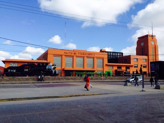 Museo Del Ferrocarril Jesus Garcia Corona