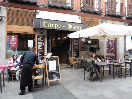 Carpe-Diem: Terrasse du restaurant
