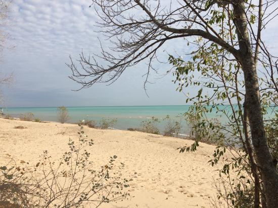Saint Clair, MI: Lake Huron from Lakeport State Park