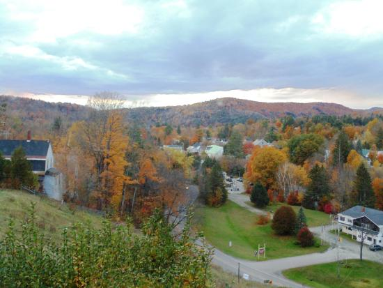 Hardwick, VT: View from my bedroom