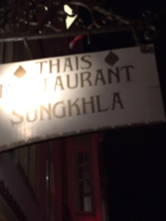 Thais Restaurant Songkhla: Door