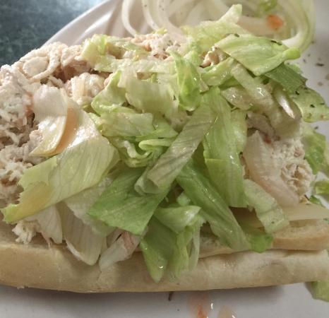 ‪‪Chesterbrook‬, بنسيلفانيا: Chicken salad hoagie‬