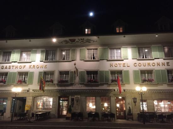 Aarberg, Swiss: Restaurant Krone