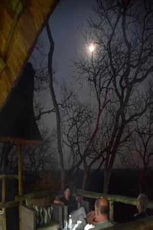 Ghoha Hills Savuti: Stimmungsbild am Abend