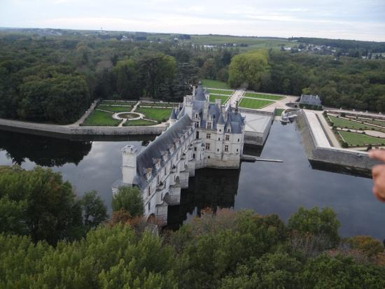 Сен-Жорж-сюр-Шер, Франция: best view of Chenonceaux!