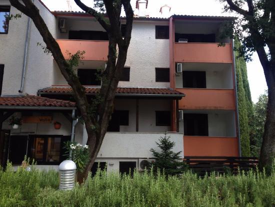 Cervar Porat, Croacia: Aparthotel Volta 1