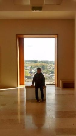 Le Grand-Pressigny, Frankreich: UItzicht vanuit museum