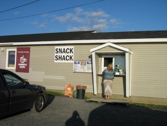 Snack Shack: place your order