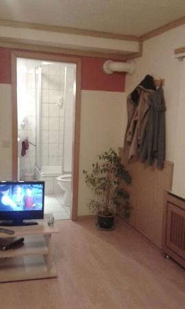 Oberraden, Alemania: Part room, part bathroom
