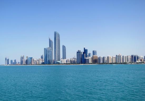 Emirato de Abu Dabi, Emiratos Árabes Unidos: Abu Dhabi Beaach View