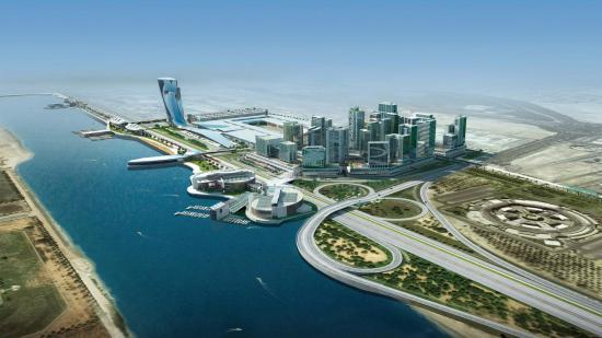 Emirate of Abu Dhabi, Uni Emirat Arab: Abu Dhabi View