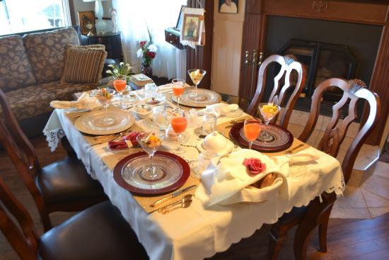 Gite des iles : Petit déjeuner matinal