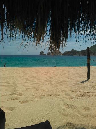 Club Cascadas de Baja: View from palapa