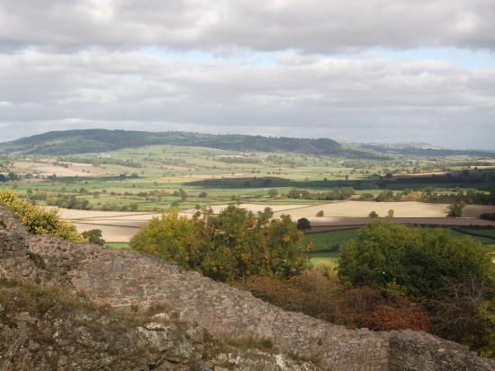 Montgomery, UK: View