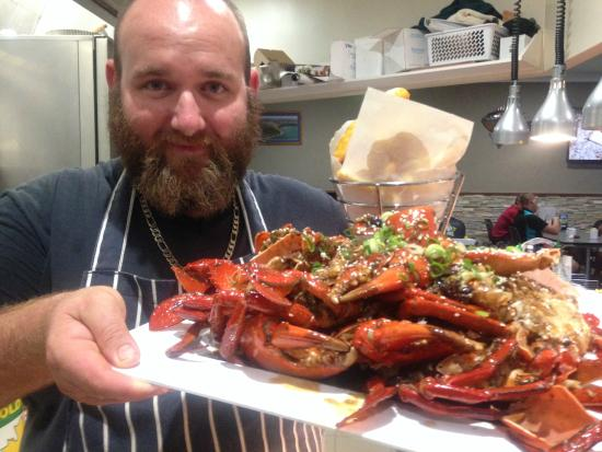 Cooktown Bowls Club: Anyone for Chilli Mud Crab?
