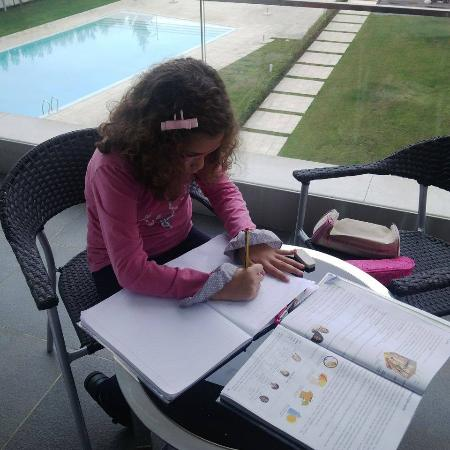 Monte Real, البرتغال: TPC na varanda