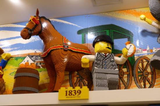 NYC Timeline LEGO decoration (1839) - Picture of The LEGO Store, New ...