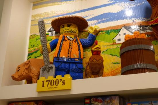 Nyc Timeline Lego Decoration Picture Of The Lego Store