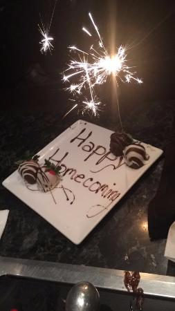 Melting Pot: This is what she did for us. As a surprise. She is awesome.
