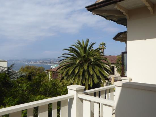 Casa Higueras: view from the terrace of the room