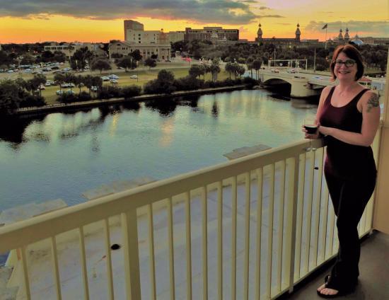 Sheraton Tampa Riverwalk Hotel On The Balcony
