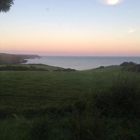Ruan Minor, UK: View from the Caravan