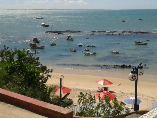 Acesso principal da praia do centro (frente restaurante) - Foto de Porto  Pipa, Tibau do Sul - Tripadvisor