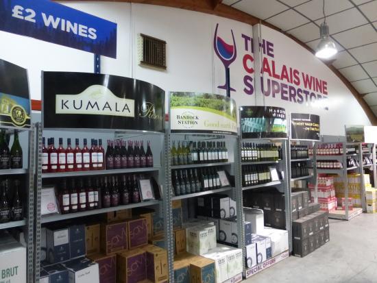 we arrived photo de calais wine superstore calais tripadvisor. Black Bedroom Furniture Sets. Home Design Ideas