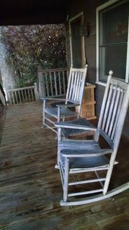 Snowbird Mountain Lodge: front porch