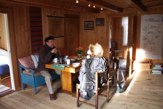 Stjordal, Norway: Liten historisk orientering i 2. etg med en gjest