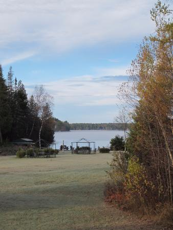 Lake Clear Lodge & Retreat: View from the Lake House