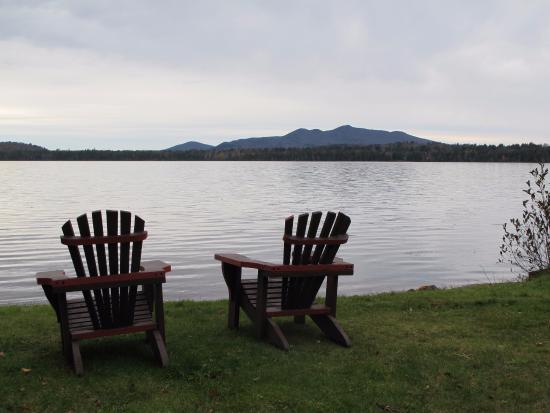Lake Clear Lodge & Retreat: Adirondack Chairs
