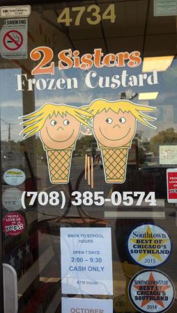 2 Sisters Frozen Custard
