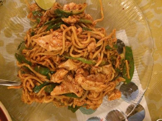 Jenny's Kuali: Mee goreng with chicken