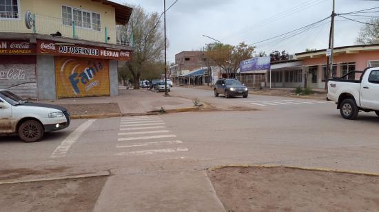 Rincon de los Sauces, Argentinien: Calles de Rincón de los Sauces