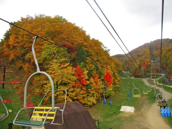 Amazing Ober Gatlinburg Amusement Park U0026 Ski Area: View From Scenic Chairlift