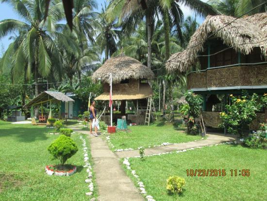 Calbayog City, Philippines: Hut rooms