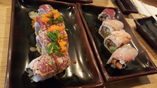 You Have To Try The Ecstasy Roll And Moon Roll Picture Of