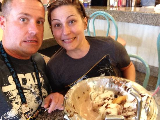 The Kitchen Sink beat us! - Picture of Beaches and cream, Lakeland ...