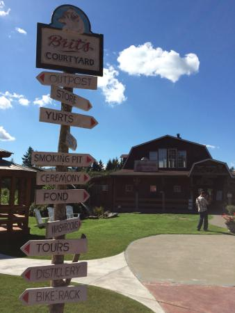 Nanaimo, Canada: One of the wineries