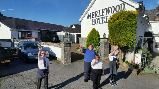 Merlewood hotel saundersfoot pays de galles voir les for Salle a manger wales