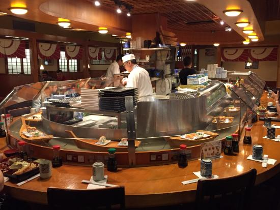 Picture Of Sushi Boat Restaurant San